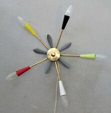 SPIDER CHANDALIER spinne SPUTNIK tütenlampe stilnovo 50er 60er