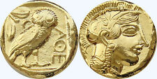 Percy Jackson Fans, Greek Gods Collection,Coin # 12G, Athena & Owl