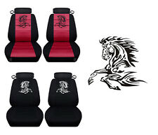 Front Seat Covers fits a 1994 to 2004 Ford Mustang Customized Design