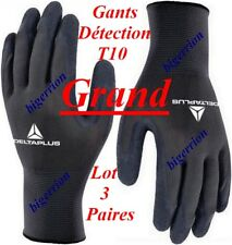 Lot Gants Détection (3 Paires T10) Détecteur de Métaux XP DEUS MINELAB GARRETT