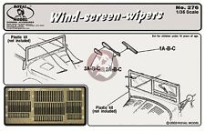 Royal Model 1/35 Windshield (Windscreen) Wiper Blades [Photo-etch Detail] 276