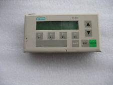 SIEMENS 6ES7 272-0AA20-0YA0  SIMATIC S7 TD200 Text Display