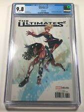 Ultimates 2 #3 CGC 9.8 Hans Variant - America Chazez Cap Marvel Comics 2017