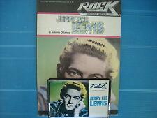 JERRY LEE LEWIS   MUSICASSETTA K7 TAPE++BOOK STORIA DEL ROCK