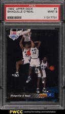 1992 Upper Deck Basketball Shaquille O'Neal ROOKIE RC #1 PSA 9 MINT