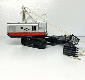 MERCURY INDUSTRIES LIT'L TOY LIMA 2400 CRAWLER SHOVEL 10-198 Crane