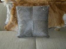 Restoration Hardware South American Cowhide Pillow 21x21 Gray Brown color