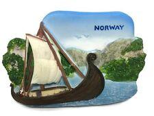 Viking Ship, NORWAY SOUVENIR RESIN 3D FRIDGE MAGNET SOUVENIR TOURIST GIFT 037