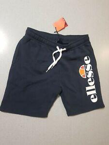 "Ellesse Men's Fleece Shorts NAVY ""Bossini"" Size L"