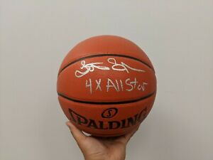 LATRELL SPREWELL - New York Knicks/GSW Signed Basketball with COA Sticker Only
