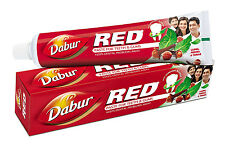 1 x Dabur Red Lal Toothpaste 100 gm (3.5 Oz) Paste For Teeth & Gums Protection