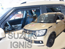 Wind Deflectors SUZUKI IGNIS mk3 5-doors 2016-onwards 4-pc HEKO Tinted