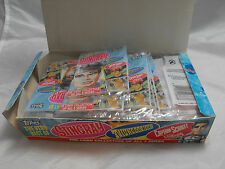 THE VERY BEST OF STINGRAY, THUNDERBIRDS AND CAPTAIN SCARLET EMPTY BOX + PACKS