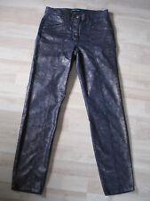 BETTY BARCLAY Stretch-Hose Gr. 34 (Maße) wie NEU Snake-Gold-Kupfer Damen Jeans