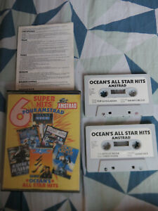 Jeu Amstrad CPC 464 - OCEAN'S ALL STAR HITS - Ocean