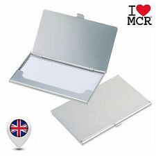 Metal Business Card Holder ID Wallet Pocket Credit Debit Work Box Safe Storage