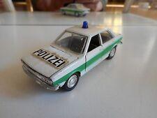 Schuco Audi 80 Polizei in White/Green on 1:43