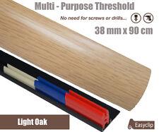 New Quality 38mm Laminate Door Threshold strip Multi Purpose Any Floor Type 90cm