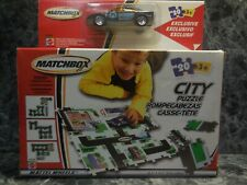 2002 matchbox city puzzle w police car new