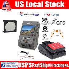 VIOFO Car Dash Camera Recorder A119 Capacitor 2K HD+ GPS Logger +Hard Wire + CPL