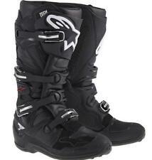 Alpinestars Tech 7 Black Adult MX Motocross BOOTS 12