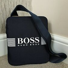 18e3a6e84a3e HUGO BOSS NAVY BLUE PIXEL S ENVELOPE CROSSBODY BAG BNWT