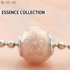 925 Sterling Silver Essence Collection Happiness Gerbera Daisy Enamel Charm Bead