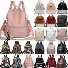 Women Large Backpack School Rucksack Ladies Camping Travel College Shoulder Bags