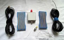 1.6MHZ ~ 50 MHz shortwave antenna LW1650 portable shortwave antenna