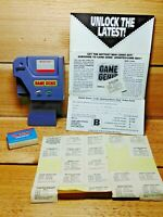 Gameboy Game Genie Galoob Model 7359 with Booklet and Stickers Cheats