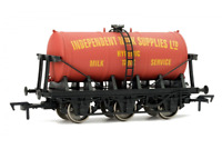 Dapol 4F-031-011 OO Gauge 6 Wheel Milk Tank Wagon Independent Milk Supplies