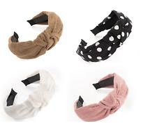 Alice Band Hair Band Headband Various Design Available Ribbon Knot Cord