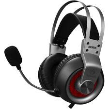 Marvo Wired Gaming Headset Kopfhörer Stereo Sound USB integriertes Mikrofon grau