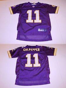 Youth Minnesota Vikings Daunte Culpepper M (10/12) Jersey (Purple) Reebok Jersey