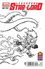 SDCC 2014 Exclusive Legendary Star Lord #1 Marvel Comics Young B&W Variant Cover