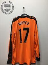 Match Worn Emmerson Boyce Wigan away football shirt 2009/2010 Men's XL
