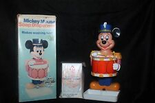 Vintage 1976 Mickey Mouse Soap Dispenser w/Box &Ivory Soap Walt Disney Hong Kong