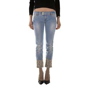 Met Jeans Pantalone Donna Col Denim Chiaro tg varie | -72 % OCCASIONE |