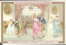 Liebig - Christmas in Different Countries S351 (Fremch) - Italy - The Gavotte