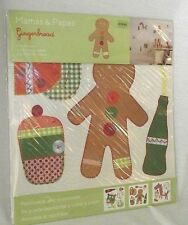 Mamas Papas Gingerbread Wall Stickers Decal Peel Stick Boy Horse Donut Scrapbook