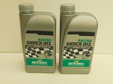 14,50€/l Motorex Racing Shock Oil 2 x 1 L Dämpferöl für Renneinsätze geeignet