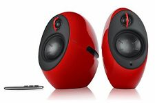 Edifier E25 LUNA Eclipse 2.0 Bluetooth Stereo Audio Speaker System - Gloss Red