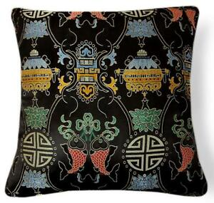 Pillow Cover*Chinese Rayon Brocade Throw Seat Pad Cushion Case Custom Size*BL24