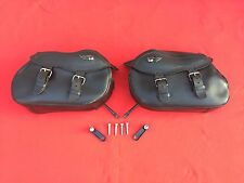 ORIGINAL GENUINE 1999 HARLEY NIGHT TRAIN SOFTAIL SADDLEBAGS FACTORY FXSTB BAGS