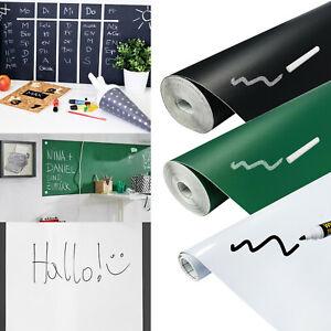 Tafelfolie selbstklebend Whiteboardfolie 11€/m² Kreidetafel Schwarz Grün Weiß