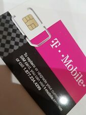 T-Mobile UNLIMITED Data Talk Preloaded One Sim Card USA Canada Mexico Travel