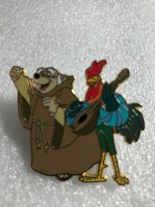 DISNEY Medieval Magic - Robin Hood -Friar Tuck & ROOSTER  LE 1000 PIN