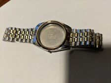 Vintage Certina Gold & Steel Bracelet and case for Quartz watch 3021-2