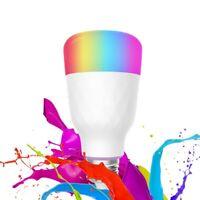 LED Wifi Smart Light Bulb 7W Dimmable RGBW Lamp E27 For Alexa & Google Home