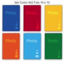 Album Fotografico 402 foto 10x15 11x16 Portafoto Basic Vari Colori .
